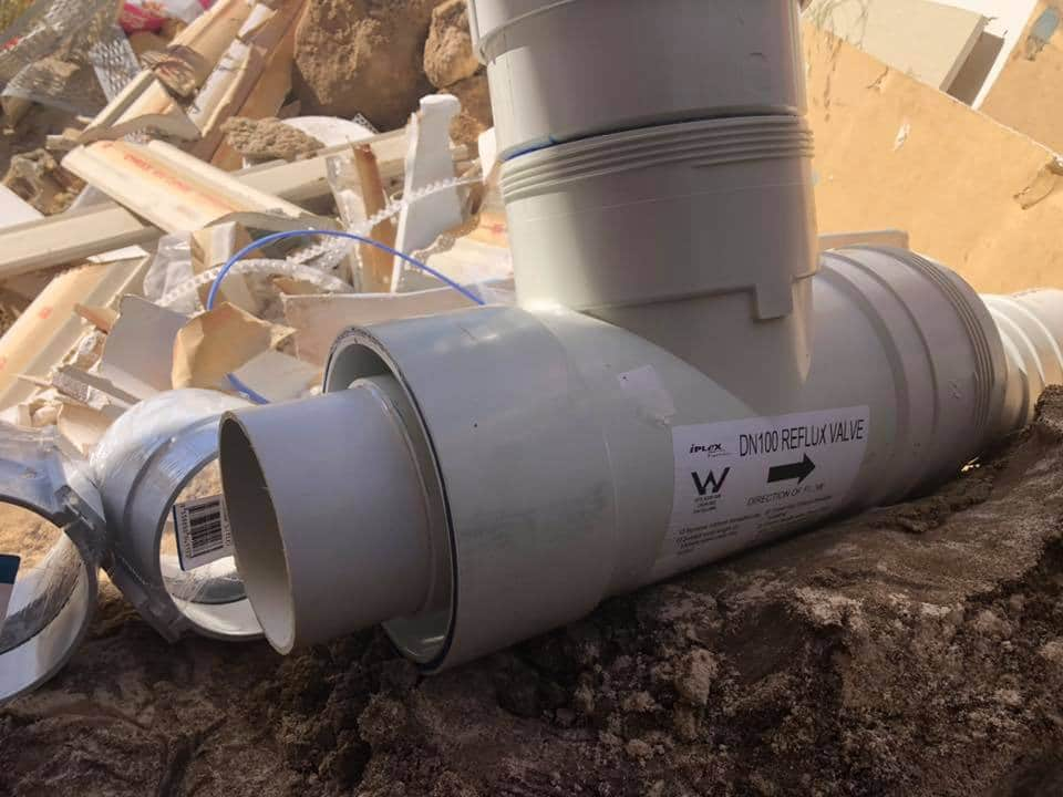 Element Plumbing & Gas: Reflux Valve