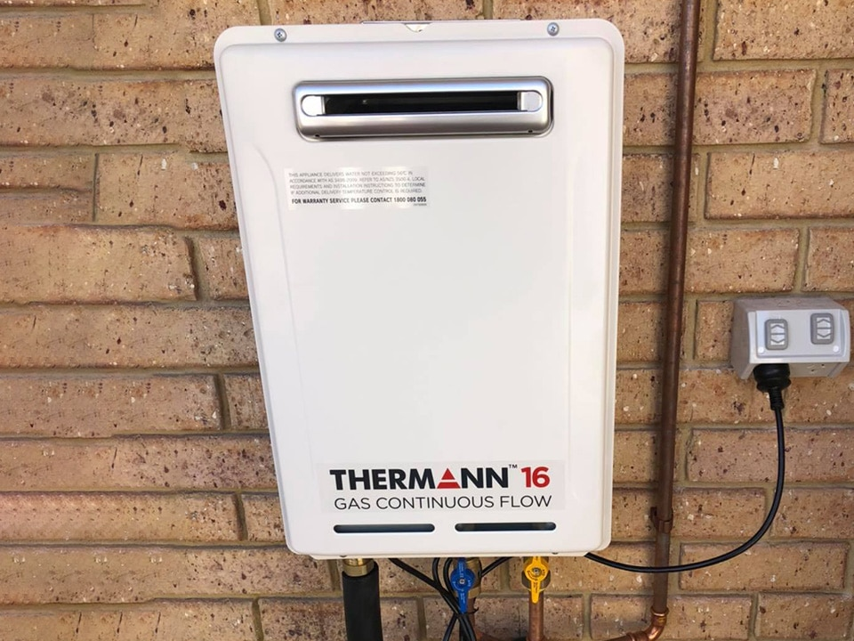 A photo of an Instant Gas Hot Water System Perth: Element Plumbing & Gas